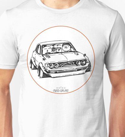 Crazy Car Art 0005 Unisex T-Shirt