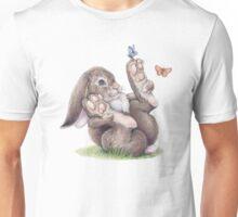 Butterfly Rabbit Unisex T-Shirt