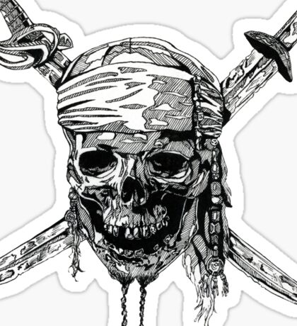 Pirates of the Caribbean  Sticker