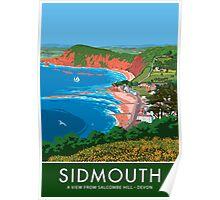 Sidmouth, Devon Poster