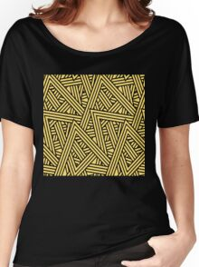 Seamless triangle Women's Relaxed Fit T-Shirt