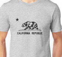 The Bear Flag - Black and White  Unisex T-Shirt