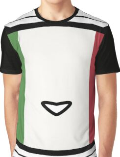 Meow Italian flag Graphic T-Shirt