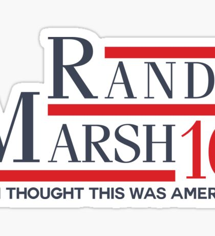 Randy Marsh 16 - I Thought This Was America Sticker