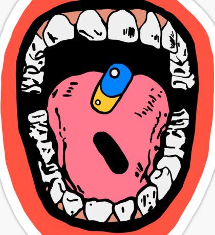 AKIRA PILL Sticker