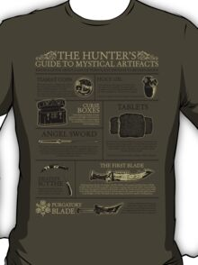 The Hunters Guide to Mystical Artifacts T-Shirt