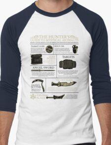 The Hunters Guide to Mystical Artifacts Men's Baseball ¾ T-Shirt