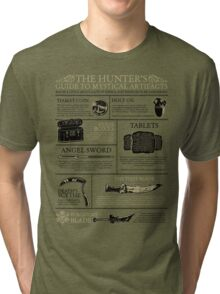 The Hunters Guide to Mystical Artifacts Tri-blend T-Shirt
