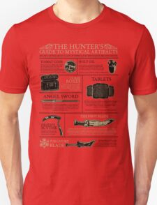 The Hunters Guide to Mystical Artifacts Unisex T-Shirt