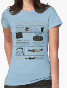 The Hunters Guide to Mystical Artifacts Womens Fitted T-Shirt