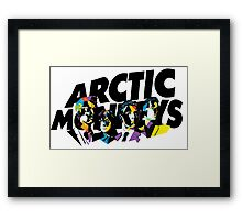 Arctic Monkeys Mosaic Framed Print