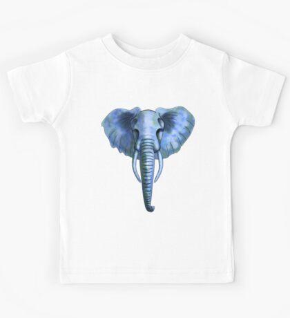 Blue Elephant Kids Tee