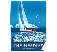The Needles, The Isle of Wight Poster