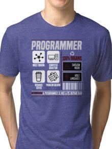 Programmer for dummies Tri-blend T-Shirt