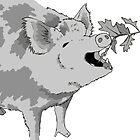 Hungry Hungry Historic Hog by Aimée Becker