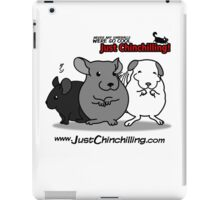 """""""Just Chinchilling!"""" 2013 cover iPad Case/Skin"""