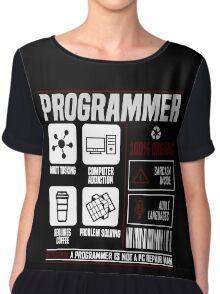 Programmer for dummies Chiffon Top