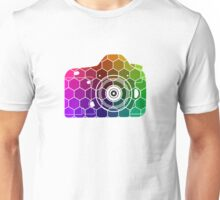 Camera Colors Unisex T-Shirt
