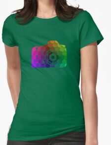 Camera Colors Womens Fitted T-Shirt