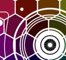Camera Colors Sticker