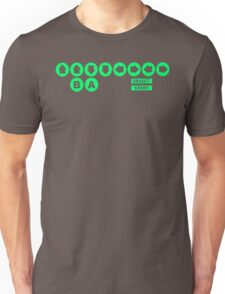 Retro Game Cheat Code Unisex T-Shirt