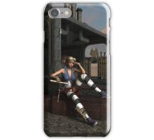 Steampunk Blaze  iPhone Case/Skin