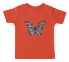 Spotty Dotty Butterfly Design  Kids Tee