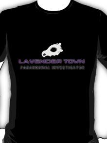 Lavender Town - Paranormal Investigator T-Shirt