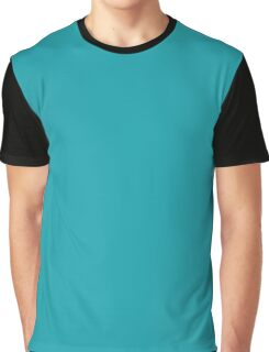 Electric Teal blue Graphic T-Shirt