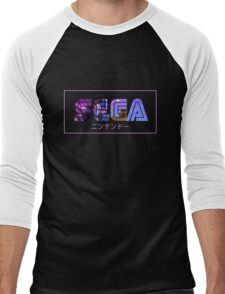 SEGA WAVE Men's Baseball ¾ T-Shirt