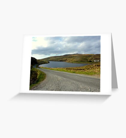 The Back Roads Of Donegal Greeting Card