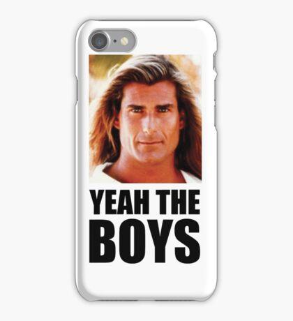 Yeah the boys shirt iPhone Case/Skin