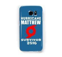 Hurricane Matthew Samsung Galaxy Case/Skin