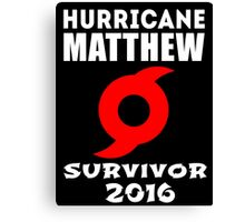 Hurricane Matthew Canvas Print