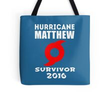 Hurricane Matthew Tote Bag