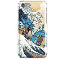 Great Wave of Gyarados iPhone Case/Skin