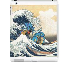 Great Wave of Gyarados iPad Case/Skin