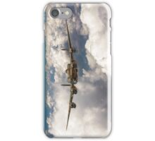 Avro Lancaster above clouds iPhone Case/Skin