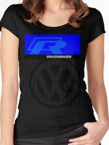 Volkswagen R Graphic Design Women's Fitted Scoop T-Shirt
