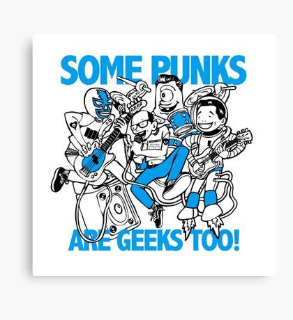 Geek Punk Canvas Print