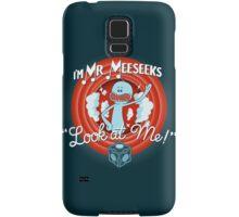 Merrie Mr. Meeseeks - shirt Samsung Galaxy Case/Skin