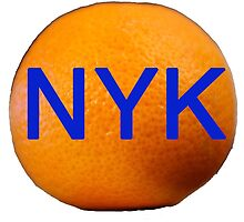 The Big Orange- NYK by Richard Heby