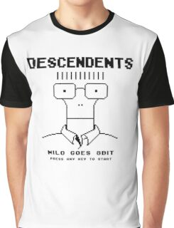 Milo Goes 8 Bit Graphic T-Shirt