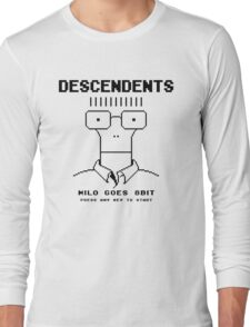 Milo Goes 8 Bit Long Sleeve T-Shirt