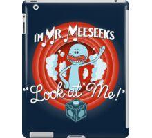 Merrie Mr. Meeseeks - shirt iPad Case/Skin