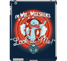 Merrie Mr. Meeseeks - shirt iPad Case/Skin