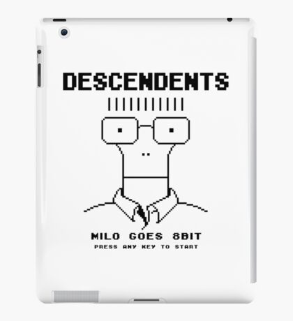 Milo Goes 8 Bit iPad Case/Skin