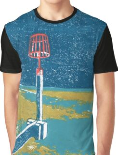 Seaview Fire Beacon in Turquoise Graphic T-Shirt