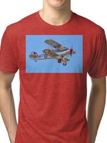 Hawker Fury I K5674 G-CBZP Tri-blend T-Shirt