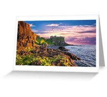 Dunluce Castle Antrim, Northern Ireland Greeting Card